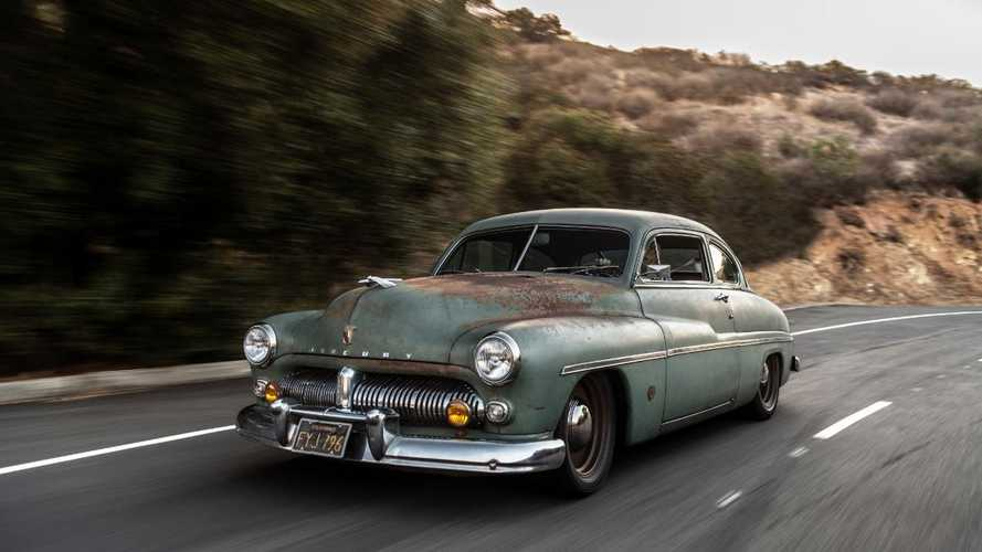 Icon reveals new Tesla-powered Mercury lead-sled EV