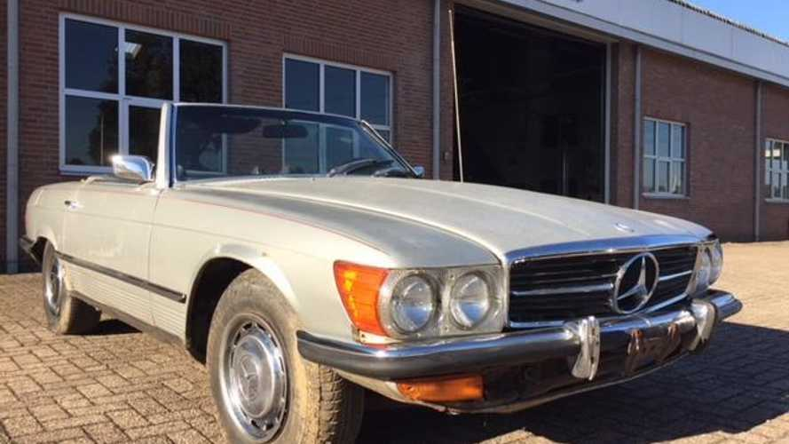 Are you brave enough to take on this Mercedes 450SL project?