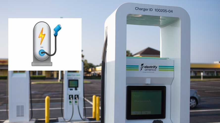 Electrify America Takes Another Shot At Establishing An EV Charger Emoji