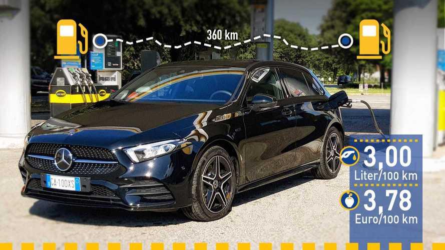 Tatsächlicher Verbrauch: Mercedes A 250 e mit Plug-in-Hybrid-Antrieb im Test