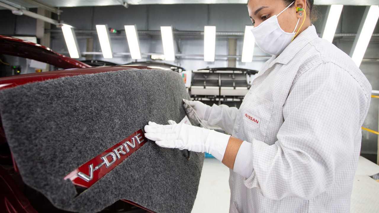 Nissan V-Drive - Início da produção