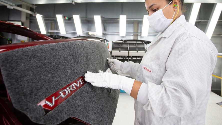Nissan V-Drive, nova versão do velho Versa, chega às lojas em agosto