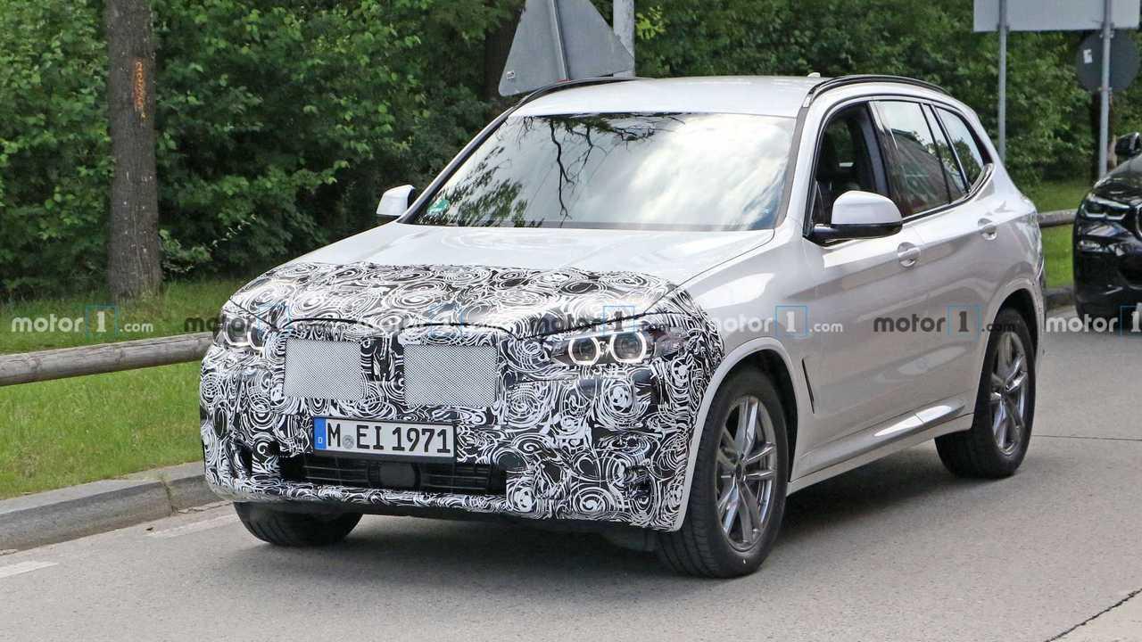 2021 Makyajlı BMW X3 Casus Fotoğraflar