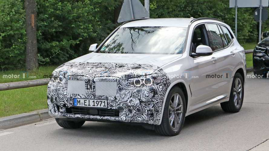 2021 için makyajlanan BMW X3 ilk kez görüntülendi