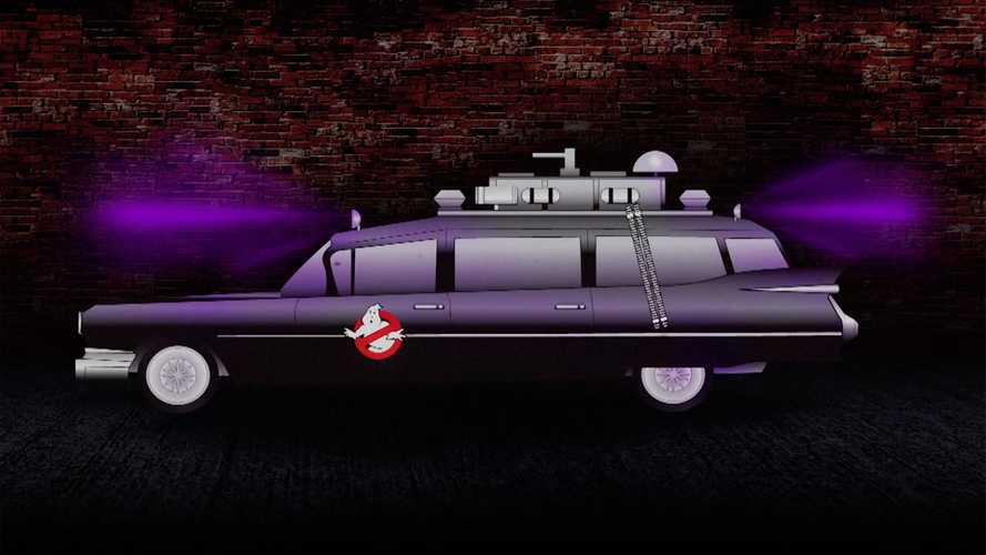 Ghostbusters Ecto-1 Was Originally All Black With Purple Lights