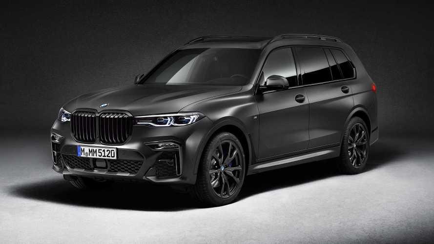 Szinte teljesen fullos kiadásként kerül piacra a BMW X7 Dark Shadow Edition