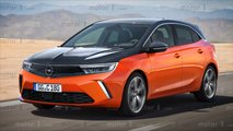 new opel astra renderings