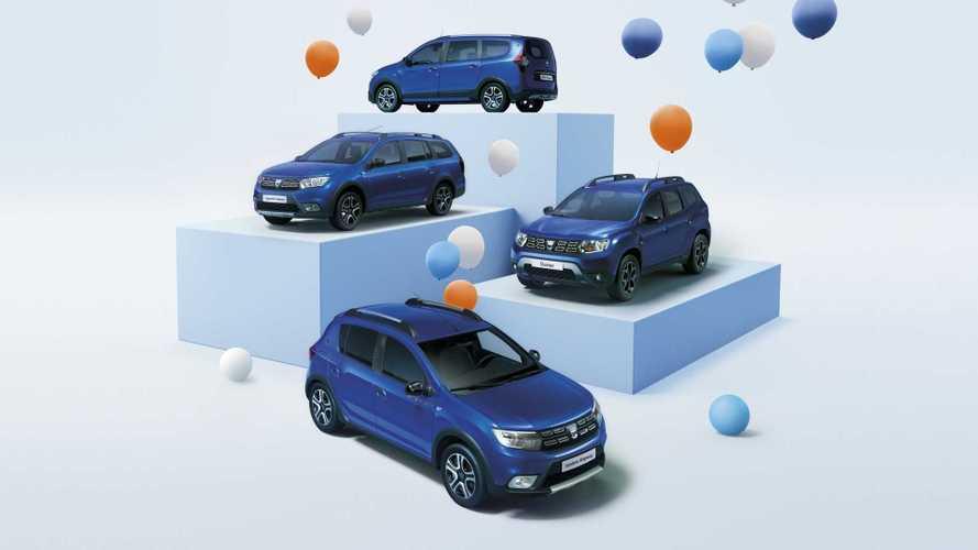 Dacia Duster e le altre, una serie speciale celebra i 15 anni del brand