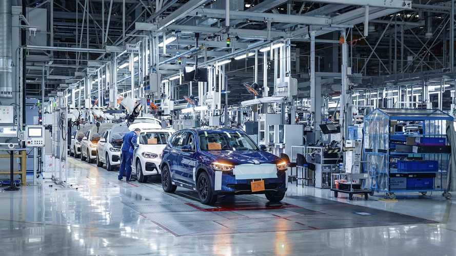 Production Of 273-Mile BMW iX3 Electric SUV To Start In Late Summer