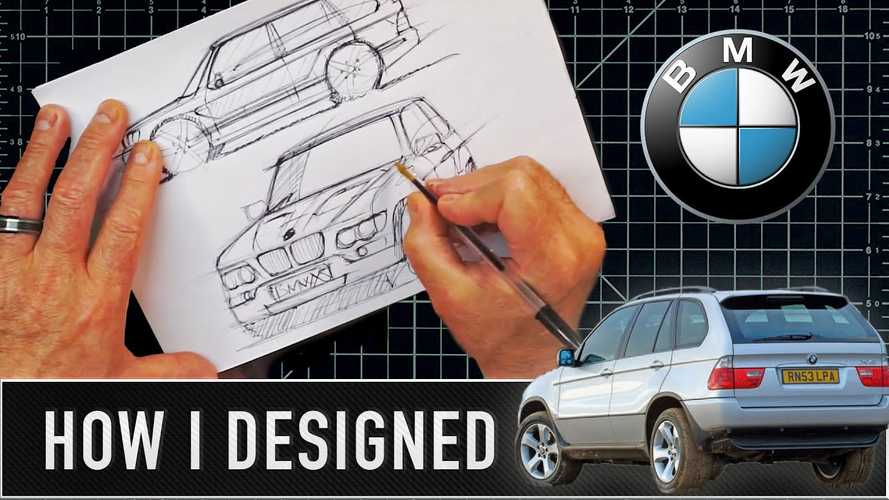 Comment j'ai dessiné : le premier BMW X5
