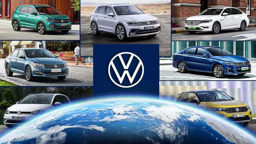 Die 10 weltweit meistgebauten VW-Modelle 2019