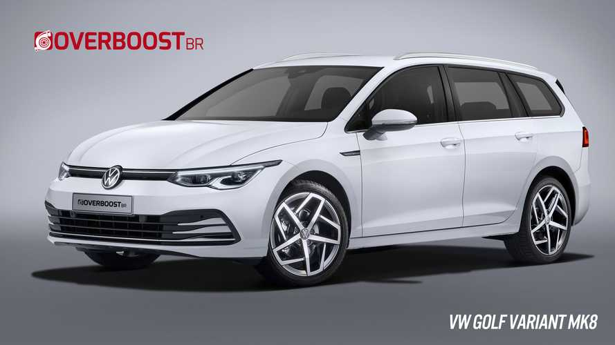 VW Golf 8 Wagon Looks Predictable In New Renderings