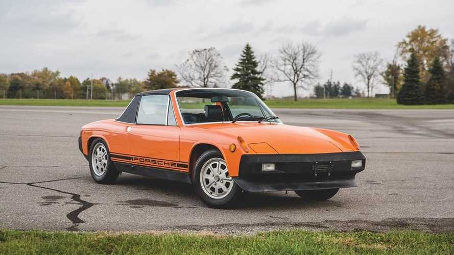 This Porsche 914 has clocked only 1141 miles in 43 years!