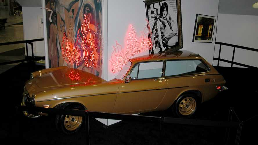Broken 1973 Volvo P1800 ES lives again as modern art