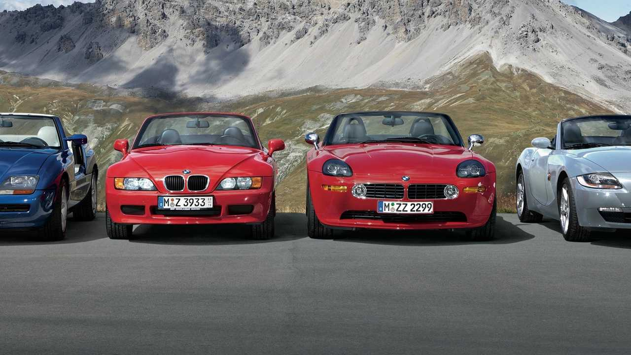History of the BMW Z sports car