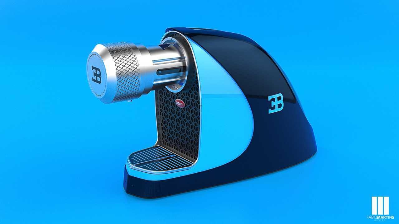 Una macchinetta del caffé che si ispira alla Bugatti Chiron