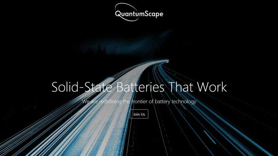 Volkswagen Increases Stake In Solid-State Battery Specialist QuantumScape