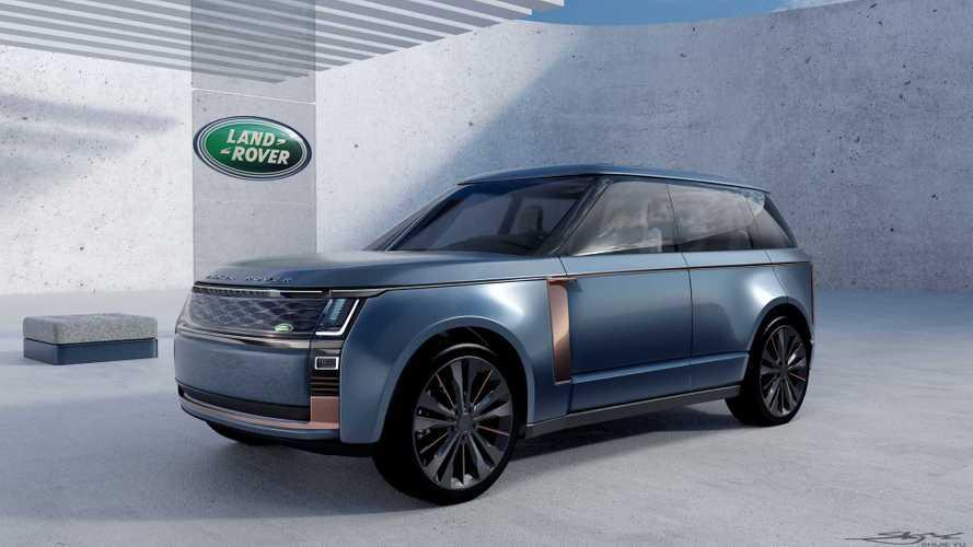 Land Rover stajyerinden çarpıcı Range Rover tasarımları geldi