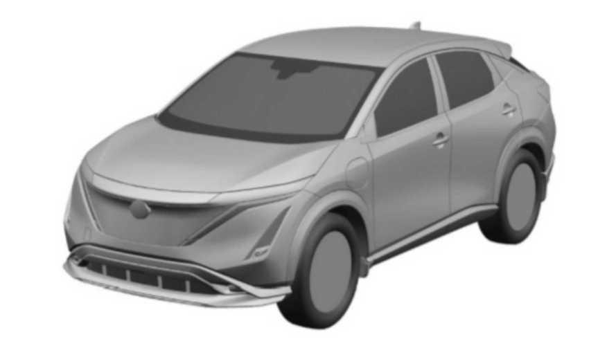 Nissan Ariya - registro de patentes 3/4