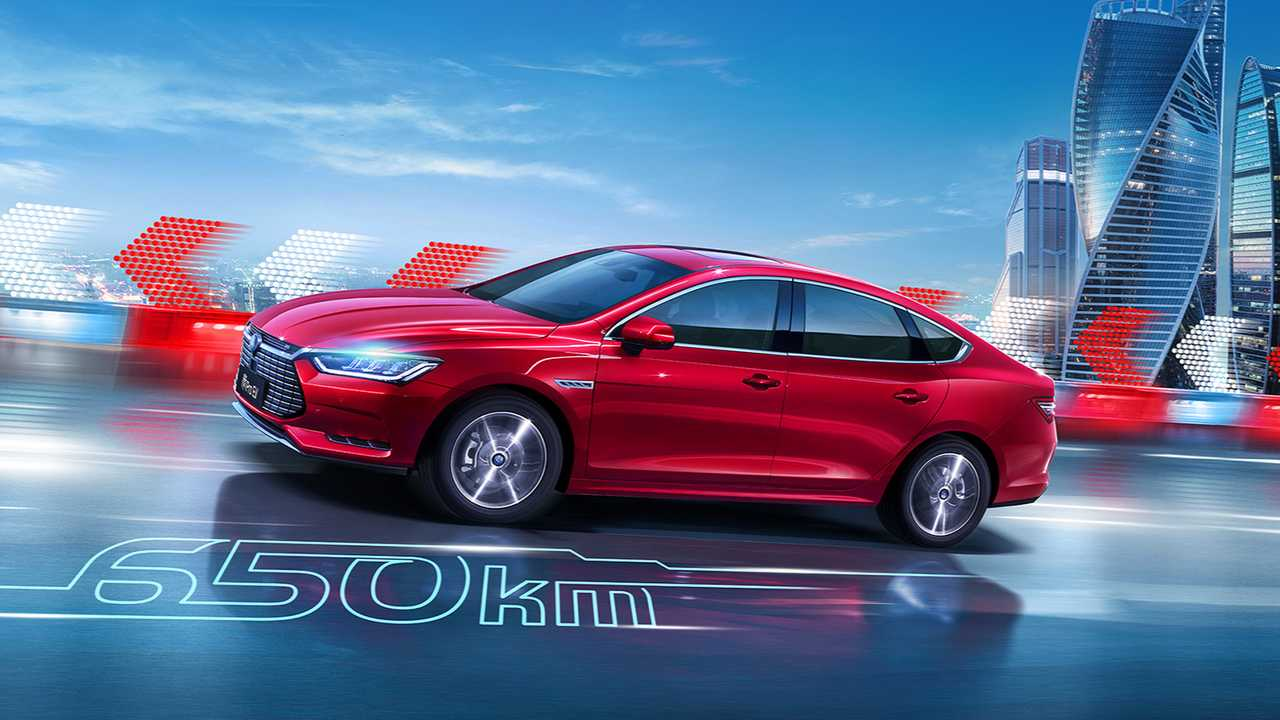 BYD Qin Pro EV
