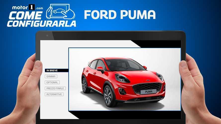 Ford Puma, come orientarsi tra gli optional della versione ibrida