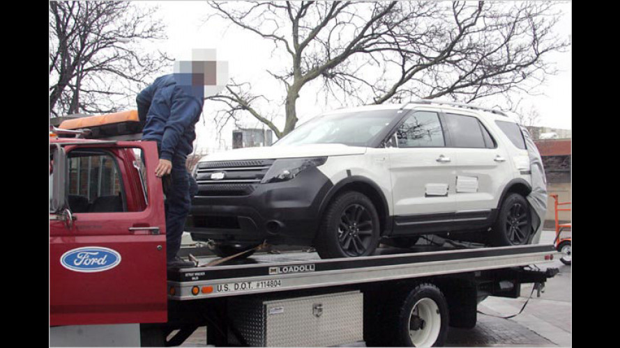Ford Explorer (2010) enthüllt