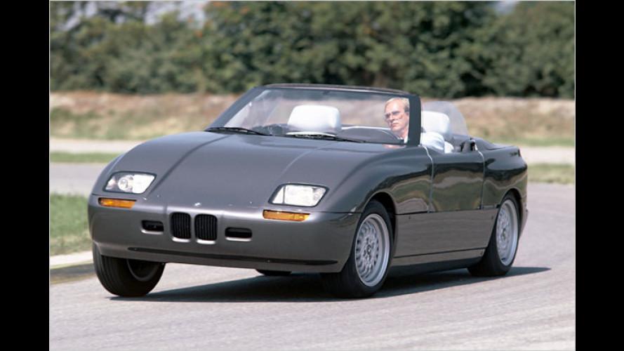 BMW-Forschungsfahrzeuge aus 25 Jahren