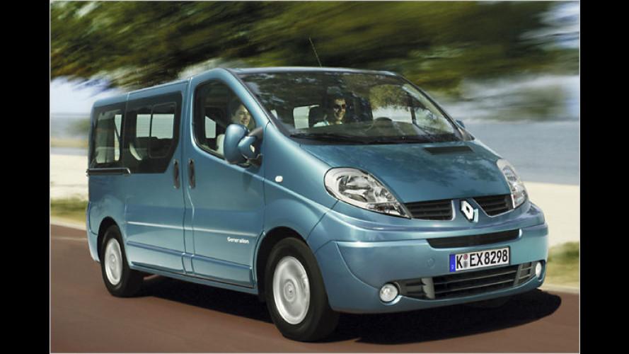 Ein Bus für Genießer: Der Renault Trafic Generation Evado