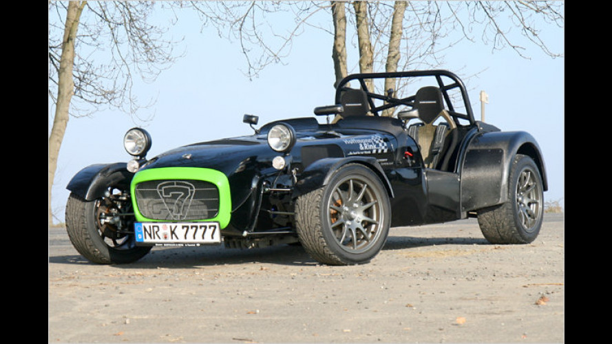 Der Caterham CSR 260 Superlight: No fat Chick