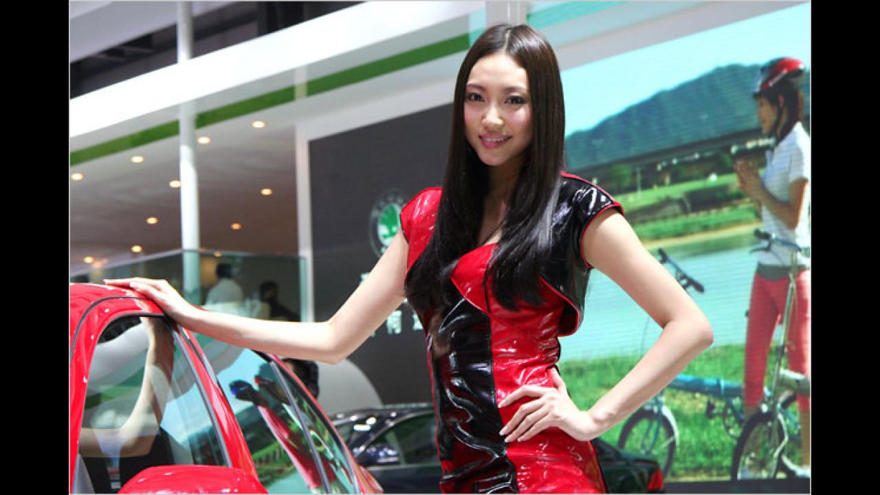 Ob Girlie oder Leder-Braut: Krasse Gegensätze in Peking