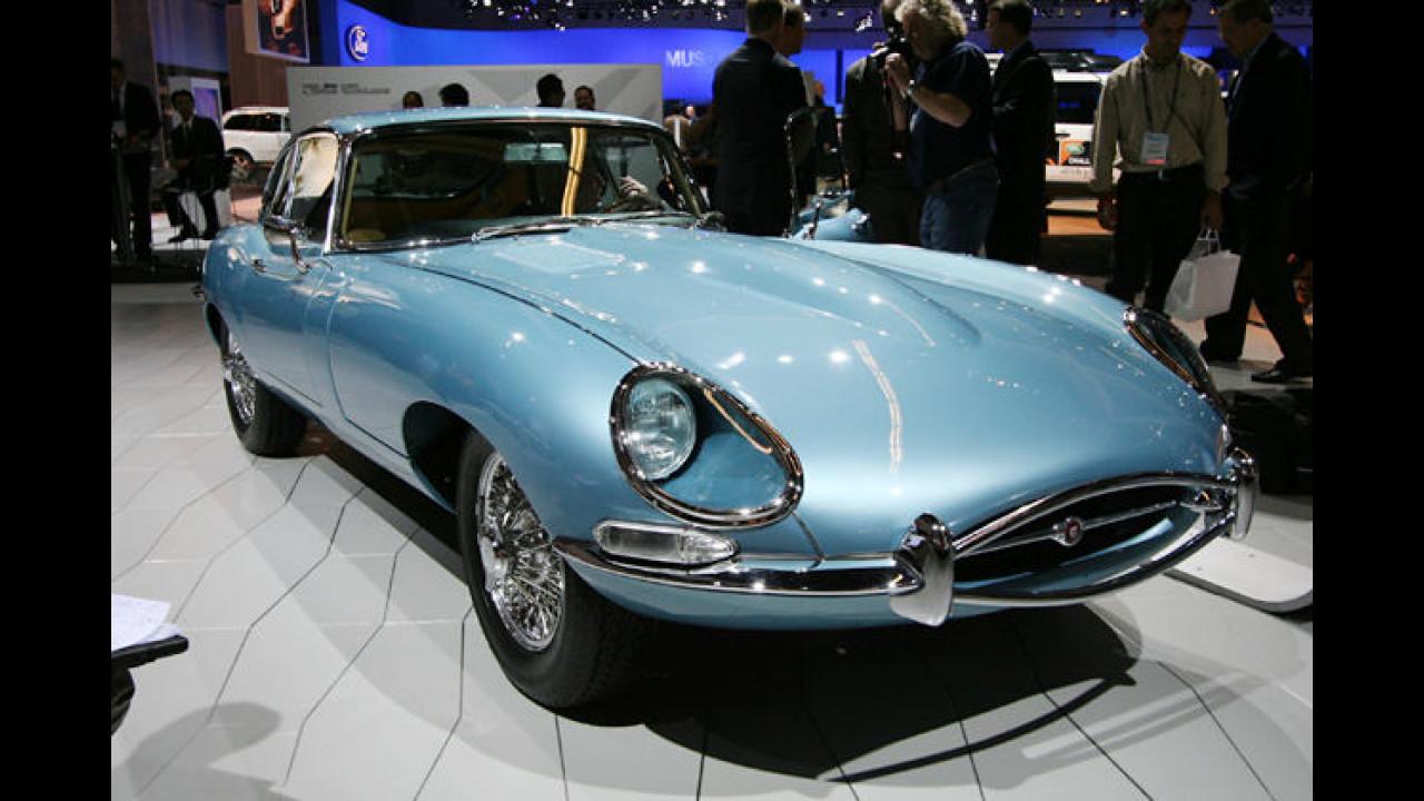 Ein nicht enden wollender Traum: Der Jaguar E-Type legte 1961 am Genfer See einen Stopp ein