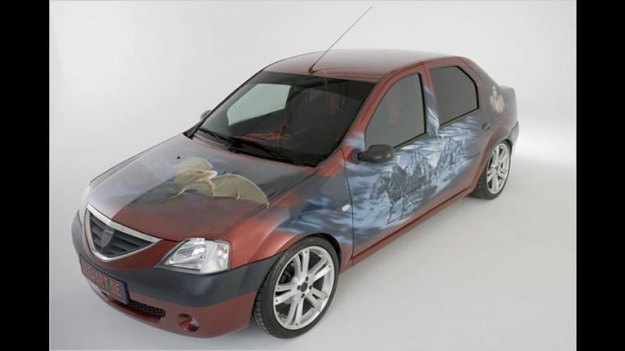 Der kleine Horrorwagen: Dacia Logan ,Graf Dracula