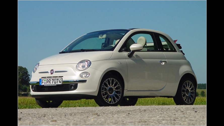 fiat 500c 2009 im test schickes beinahe cabrio zum. Black Bedroom Furniture Sets. Home Design Ideas