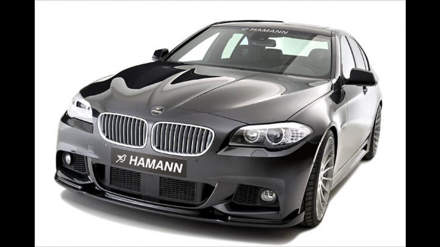 Von Hamann getunt: Der BMW Fünfer mit M-Paket