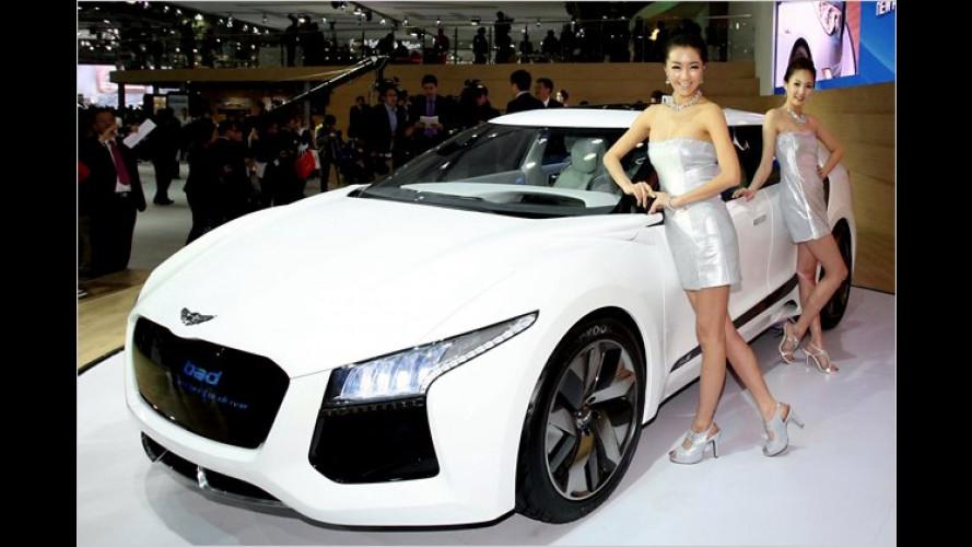 Blau hoch zwei: Concept Car Hyundai Blue2