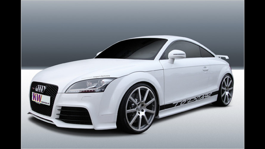 Audi TT RS mit individuellem Fahrwerk