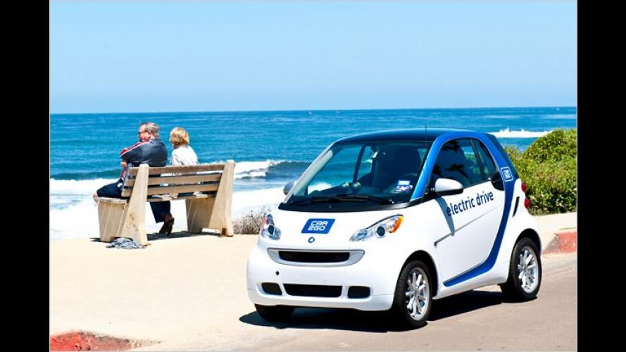Daimler startet in San Diego mit elektrischer car2go-Flotte