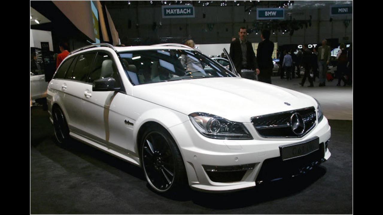 Mercedes C 63 AMG Facelift