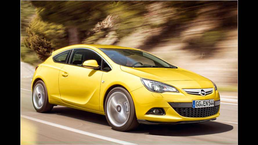 Astra GTC: Das ist der neue Opel-Dreitürer