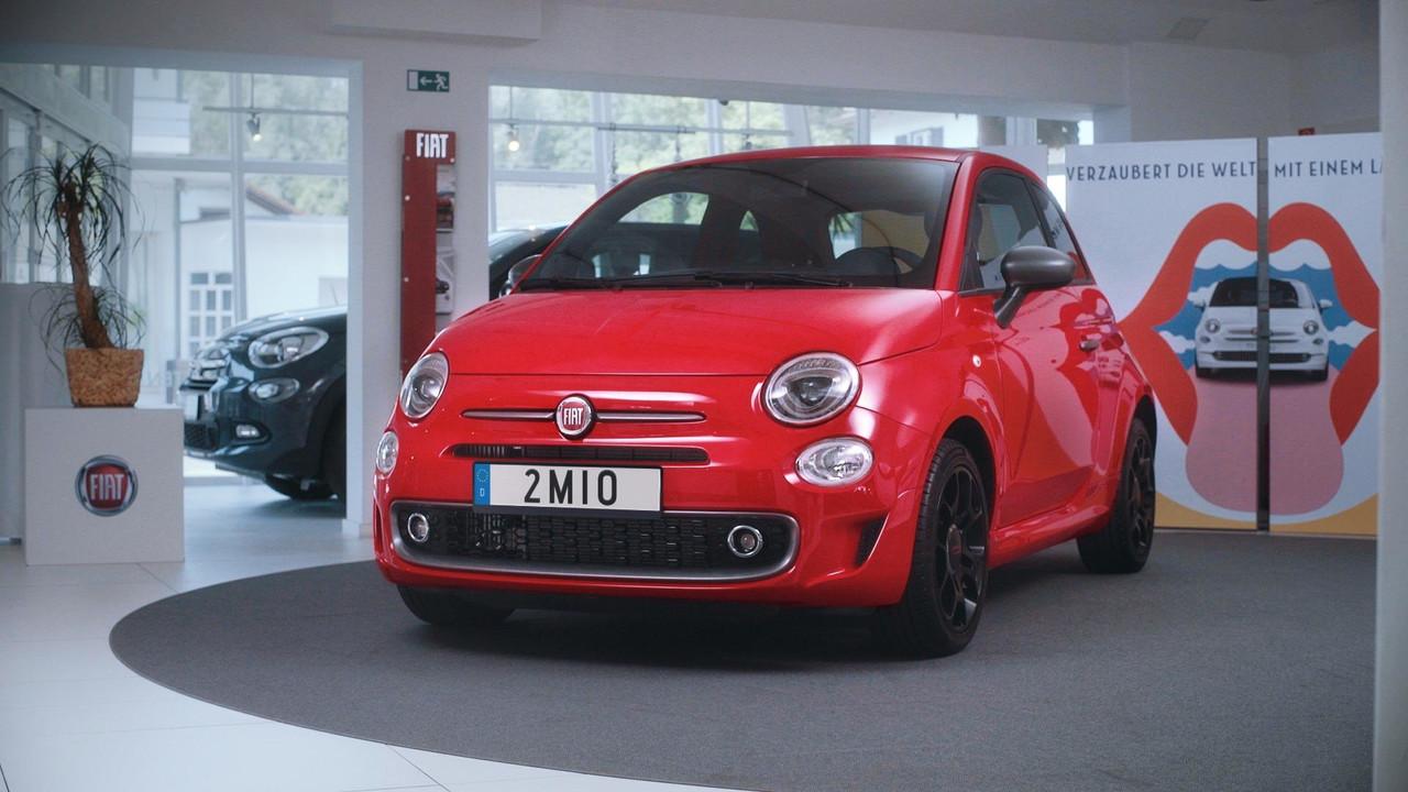Fiat 500 2 millionième exemplaire