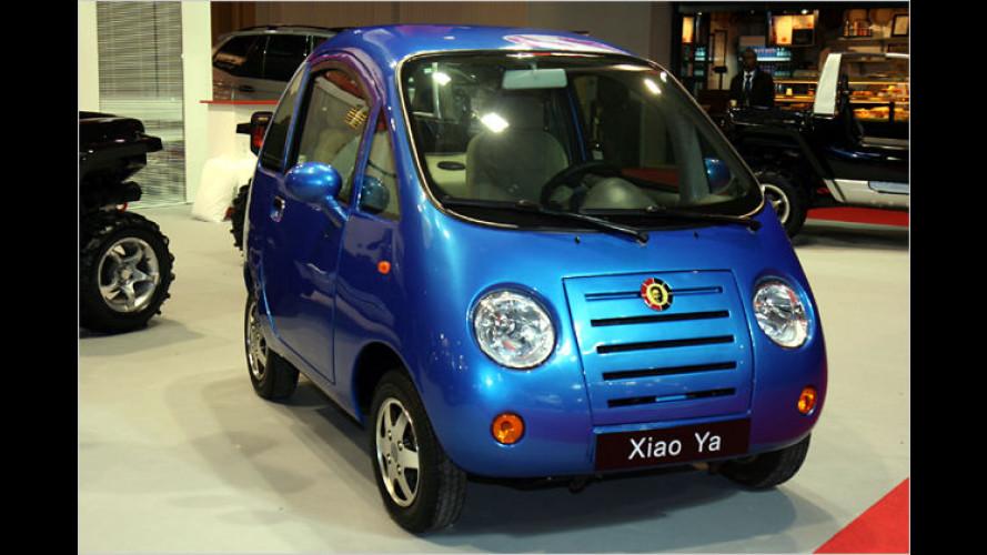 Knuddelsüß und umweltfreundlich: China-Elektromobil Chika