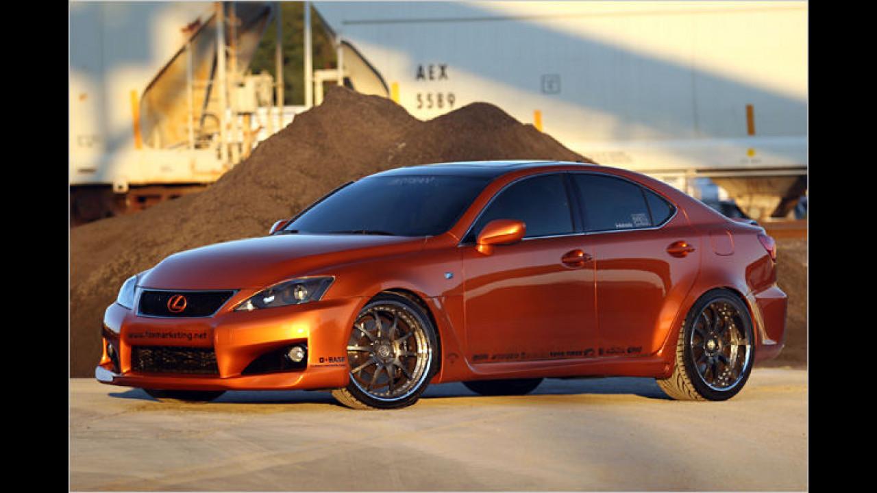Heiße Lexus-Varianten