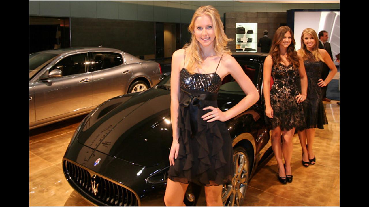 Maserati-Trio: Klar, die Firma hat ja auch einen DREIzack als Logo