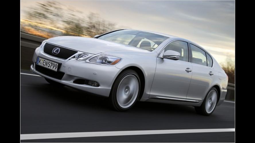 Aufgefrischter Luxus-Liner: Facelift für den Lexus GS