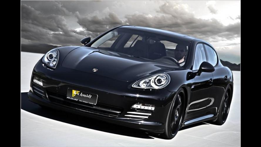 Porsche Panamera 4S: Geheime Ingredienzien