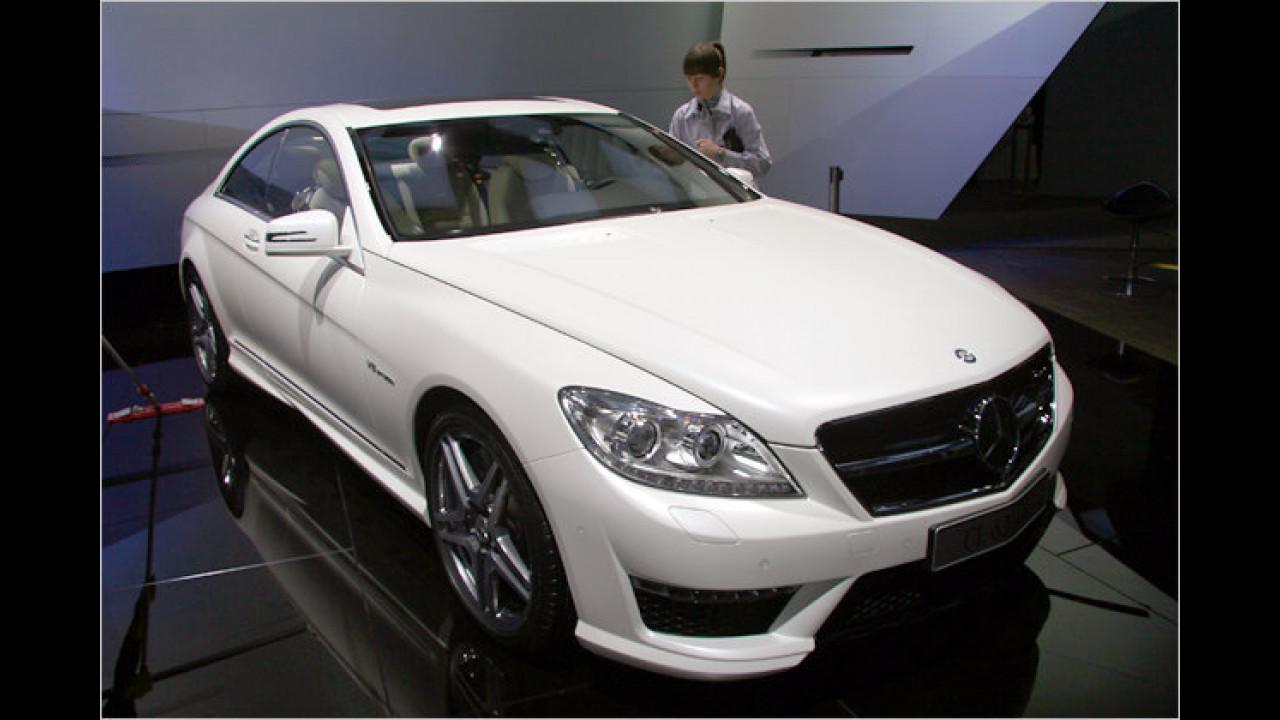 Mercedes CL 63 AMG Facelift
