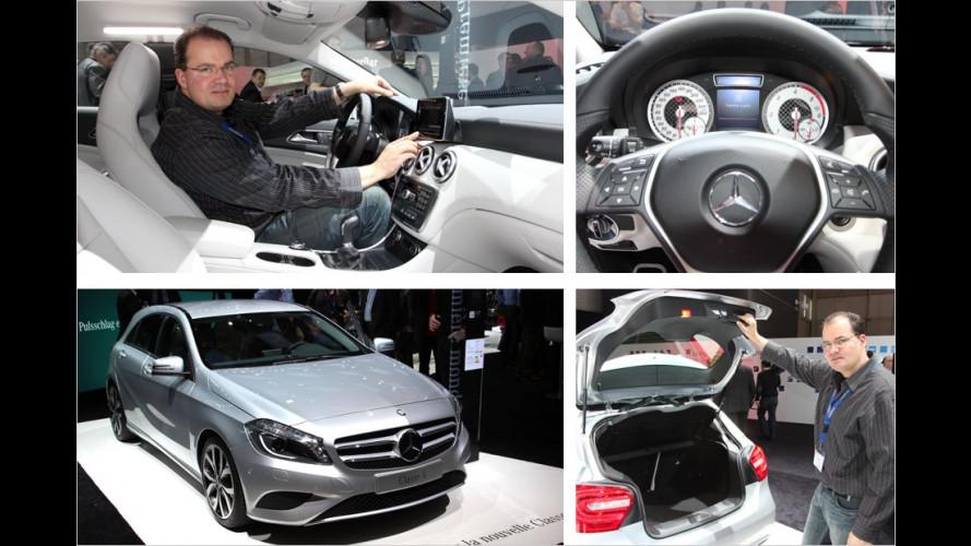 Neue Mercedes A-Klasse: Erste Sitzprobe