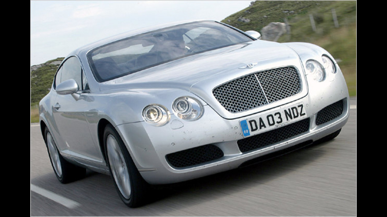 Bentley Continental GT und VW Phaeton