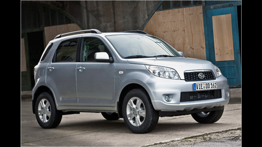 Kompakt-SUV Daihatsu Terios wird sparsamer