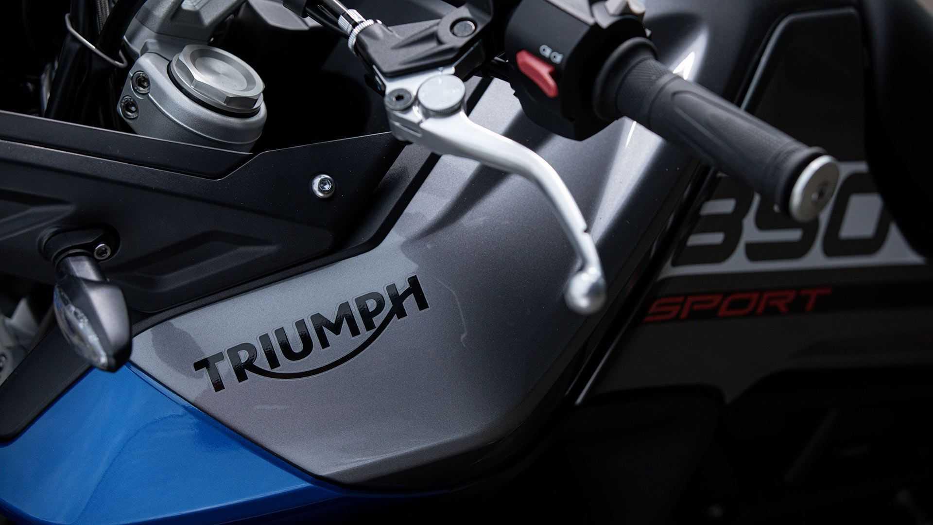 2021 Triumph Tiger 850 Esporte, Detalhe, Adesivos